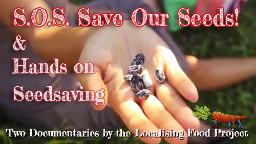 S.O.S. Save Our Seeds! & Hands On Seed Saving Bundle Image