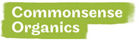 Logo common sense organics